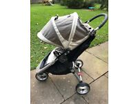 Baby Jogger City Mini with Car Seat Adaptor and Footmuff