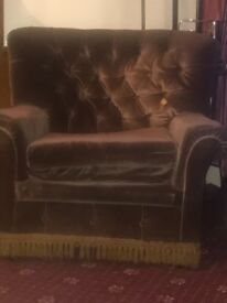 Old free sofa to recycle or use