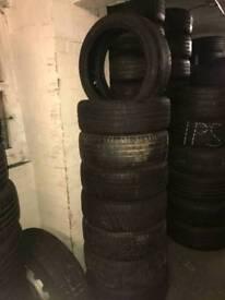 205 45 17 RUN FLAT part worn tyres
