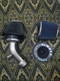 Honda Civic Type R Ep3 Stainless Steel K&N Induction Kit Arm