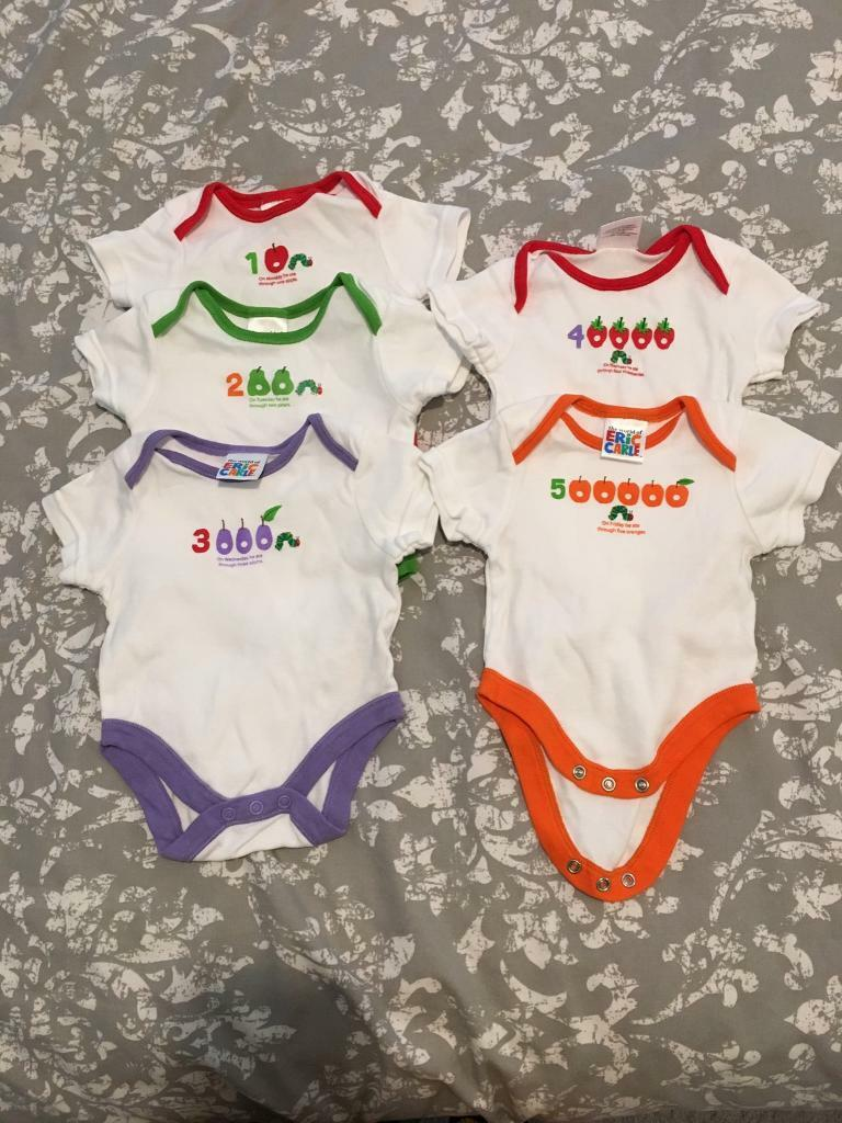 3375c17b975d8 The Very Hungry Caterpillar vests - newborn | in Bootle, Merseyside ...