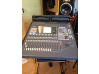 Yamaha O2R Mixer Pro Audio Digital Recording Console Studio with Meter Bridge and cards OFFERS