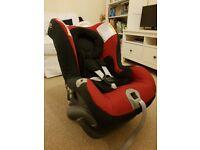 IMMACULATE Britax First Class Plus Car seat 0+, red/black, newborn to 4yrs