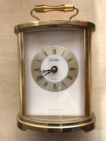 Vintage Battery operated Metamec Quartz Mantel Piece Clock