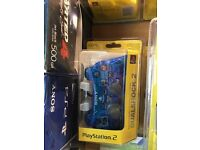 PS2 Dual Shock Controller - ocean blue