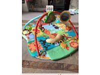 Bright starts baby jungle gym/playmat