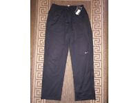 Nike Dri-Fit Men Training Trousers Pants Black Size S