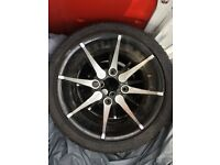 """12 quad bike alloy wheels bashan panther warrior catbrier"