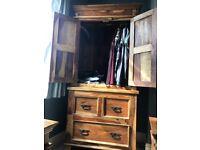 Sheesham wardrobe