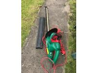 Qualcast hedge trimmer (electric)