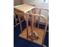 Free Oswestry wood standing frame