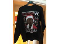 Kanye West Christmas jumper SMALL (NEW)