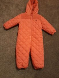 Next snow suit age 18-24 month