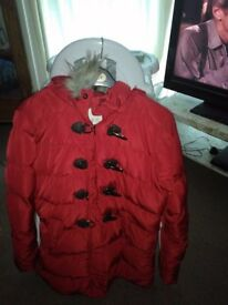 Womans padded coat