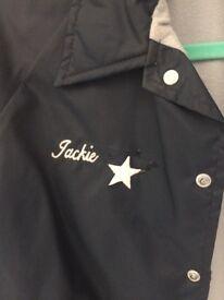 Vintage American Ladies Softball Jacket