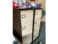 very good condition silverline filing cabinet
