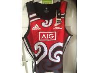 All blacks rugby vests