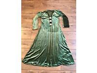 Green Asian dress/Jubba size 12