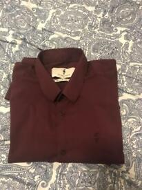Father Sons Burgundy Shirt - Size Medium