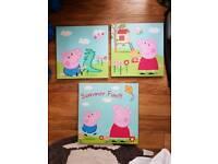 Set of 3 Peppa canvas