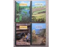 Four Readers Digest Hard Back The Living Countryside Nature Books; 2 for £10.00