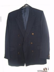 "Mans pure wool Blazer, Navy, Size 42"" chest"