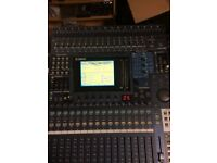 Yamaha Dm1000 Digital Mixing Console fully working with PDF manuals live or studio - Reduced Price