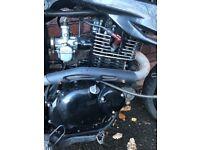 sinnis apache 125 engine