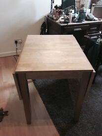 Foldaway table
