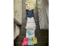 Girls shorts and t-shirt bundle H&M and Atmosphere Size 6-8 years