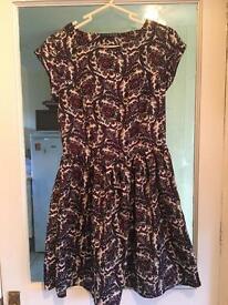 Size 10 Floral skater dress