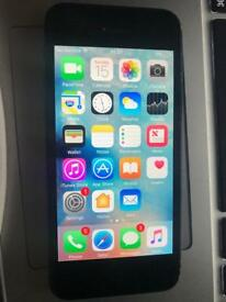Space Grey iPhone 5 16 gb