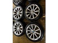 "18"" BMW MSPORT 3 SERIES 1 SERIES 5 SERIES ALLOY WHEELS SET OF 4"