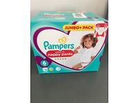 Pampers Nappies, full box size 6, never opened