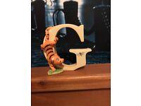 Winnie The Pooh Alphabet Letter G