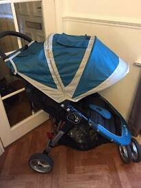 Baby Jogger City Mini Stroller plus Carrycot, Footmuff, Raincover and car seat adaptors