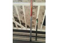 Fishing whip and rod
