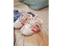 Adidas baby girl trainers and a next tracksuit