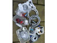 Vespa parts various items trims lights etc