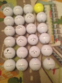 100 mixed golf balls