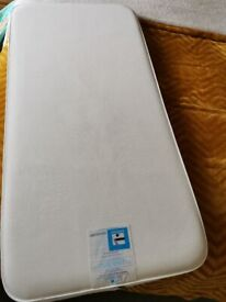 ⭕Mothercare cot mattress excellent condition with breathable removable cover ⭕