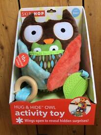 Hug & Hide Owl activity toy BRAND NEW