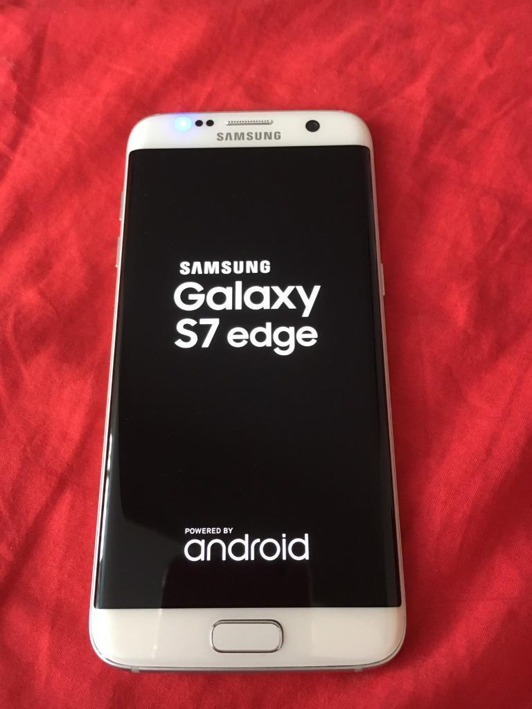 Samsung galaxy s7 edge. Pearl white. Unlocked Samsung warranty Like newin Alum Rock, West MidlandsGumtree - Samsung galaxy s7 edgeColour pearl white colour available Network Unlocked use any SIM card Brand new condition with box and charger All in perfect working order, comes with Samsung warranty for your peace of mind.Buy with confidence from a reliable...