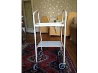 MEDICAL/BEAUTY TROLLEY WITH WHEELS