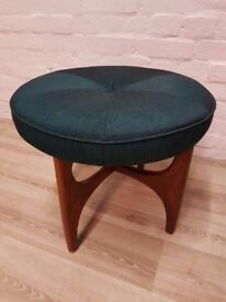 G-plan Fresco Dressing Table Stool (DELIVERY AVAILABLE FOR THIS ITEM OF FURNITURE)