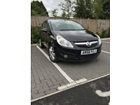 Vauxhall Corsa 2008 Black 1.4 Design Manual 44K Mileage 1 Previous Owner Cheap to run / Insure