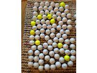 Over 100 Titleist Golf balls Pearl/Grade A condition nxt, tour dt etc. Bargain