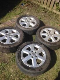 """16"""" Vauxhall alloys"""