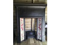 Iron Fire Place with some fittings