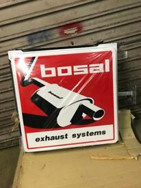 Bosal garage forecourt sign